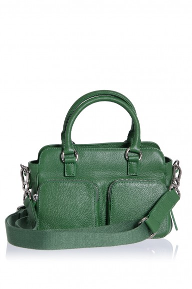 City Bag mini Chi Chi Fan forest green